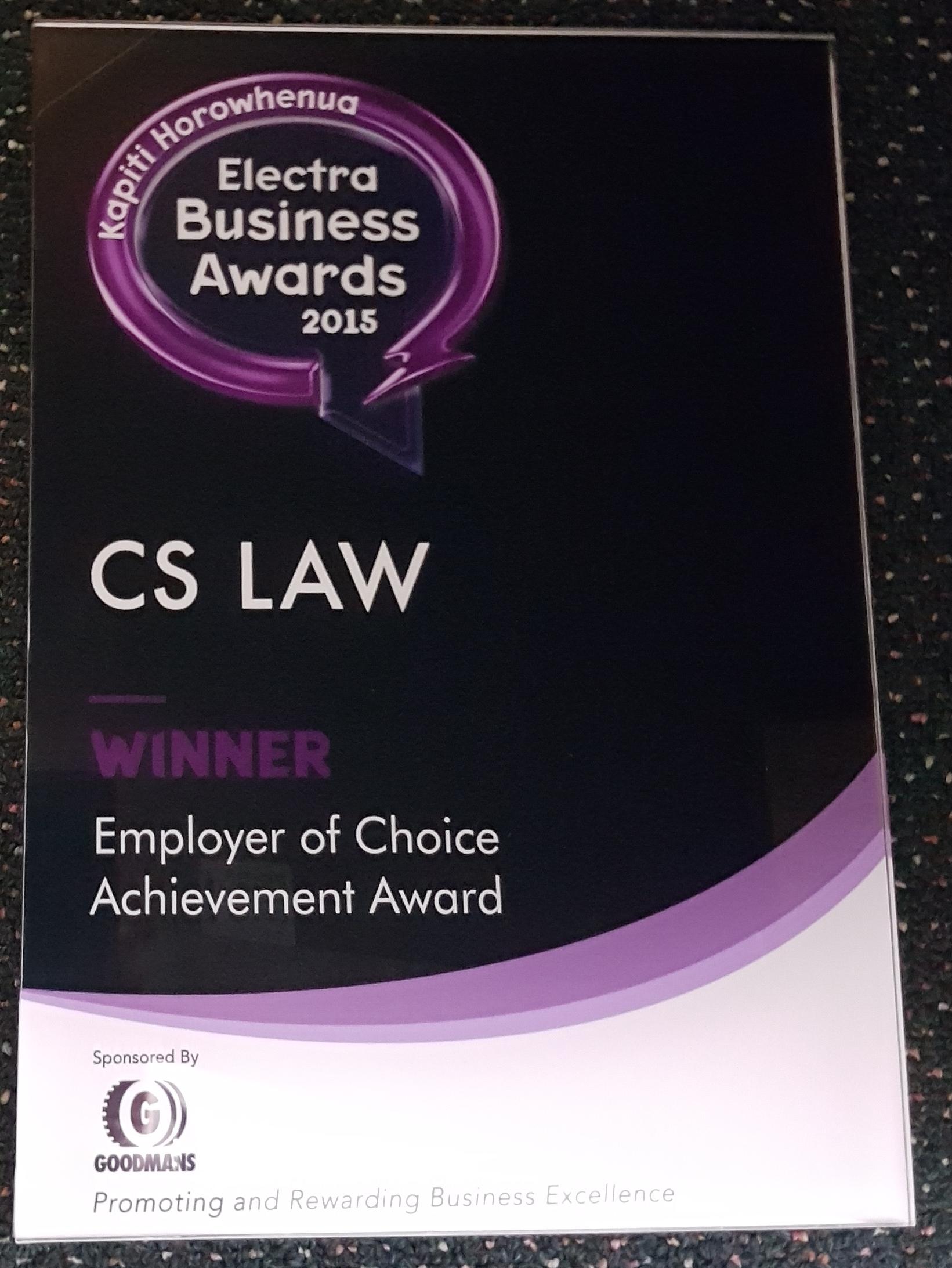 CS Law - 2015